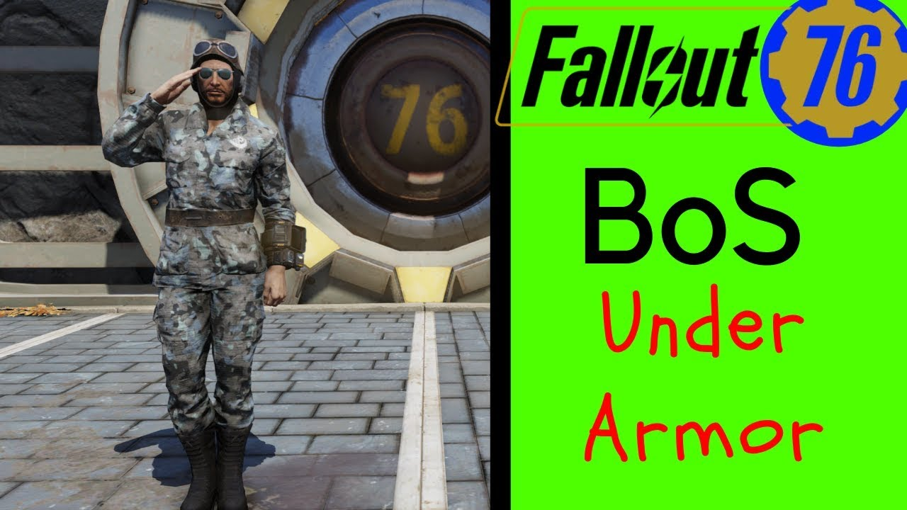 Fallout 76 Under Armor - BoS Under Armor Mods