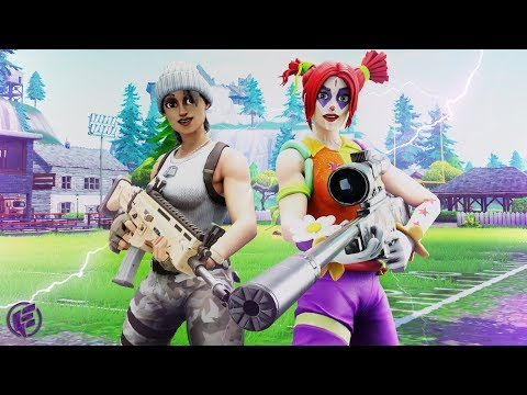 WIPING OUT THE LOBBY, DUOS WITH CARLEE - Electra Fortnite Gameplay