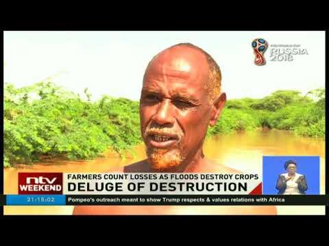 Garissa residents living along Tana River seek refuge in schools
