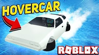 *UPDATE* Buying The NEW Flying Car Thunderbird Hovercar In Roblox Mad City (Most Expensive Car)