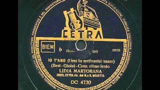 Lidia Martorana - Io t