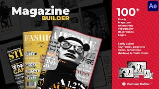 Magazine Promo Builder ★ After…