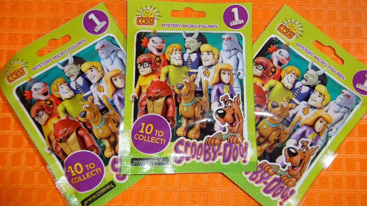 Scooby Doo Mystery Micro Figures Surprise Blind Bags