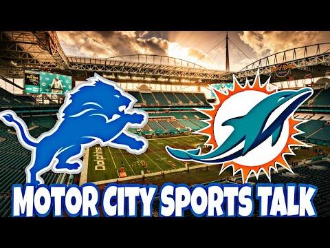 (Prediction) Detroit Lions vs Miami Dolphins | Week #7 2018