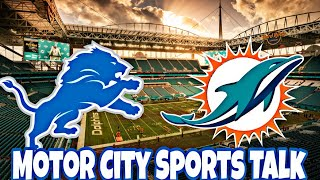 (Prediction) Detroit Lions vs Miami Dolphins | Week #7 2018