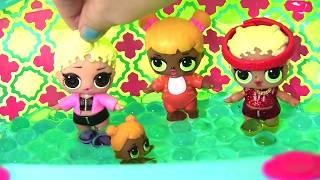 ЛЯЛЬКИ ЛОЛ СЮРПРИЗ МУЛЬТИКИ! В молодшій групі Дитячого Садка новенька Lol Surprise Doll Ляльки Пупсики