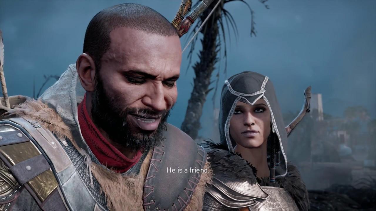 Assassin S Creed Origins The Hidden Ones The Greater Good Aya