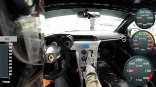 2014 POV FormulaD Texas Fredric Aasbo vs Darren McNamara 4Cyl Turbo vs V8 Turbo
