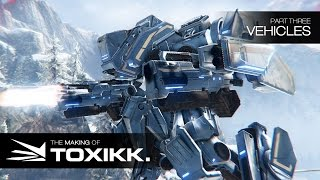 Making of TOXIKK: The Vehicles