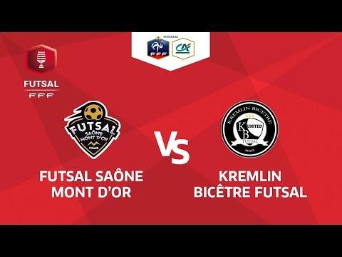 Finale Coupe National Futsal I Saône Mont D'Or / Kremlin Bicêtre - Samedi 19 Mai à 17h30
