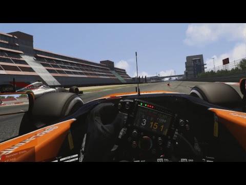 F1 Formula 1 Hybrid 2017 Assetto Corsa Sim Studio Mod