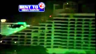 Martial Law : Military Black Helicopter Drills decend over Miami, Florida (May 08, 2012)
