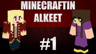 Minecraftin alkeet - Ep1 - wildeem & puuris