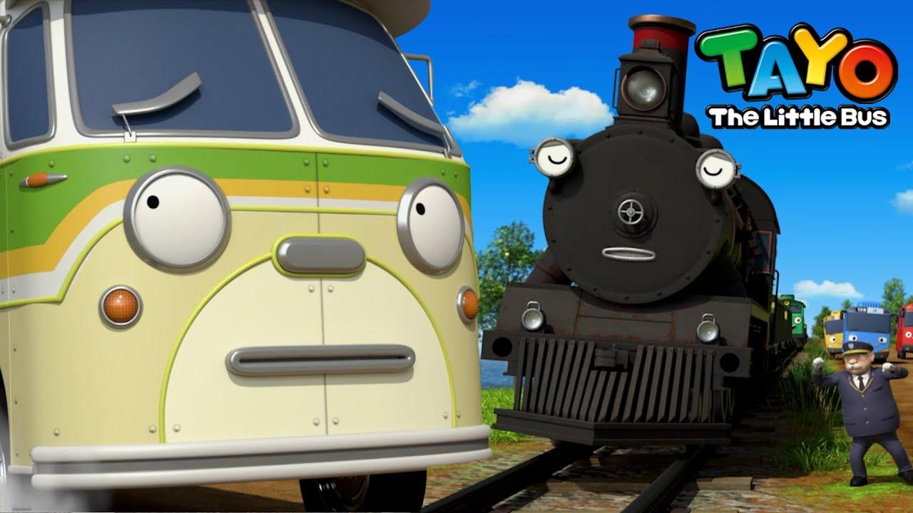 Tayo bölüm klibi l Yaşlı tren ve yaşlı adam kim? l Tayo Sezon 5 türkçe l Buba'nın tatili