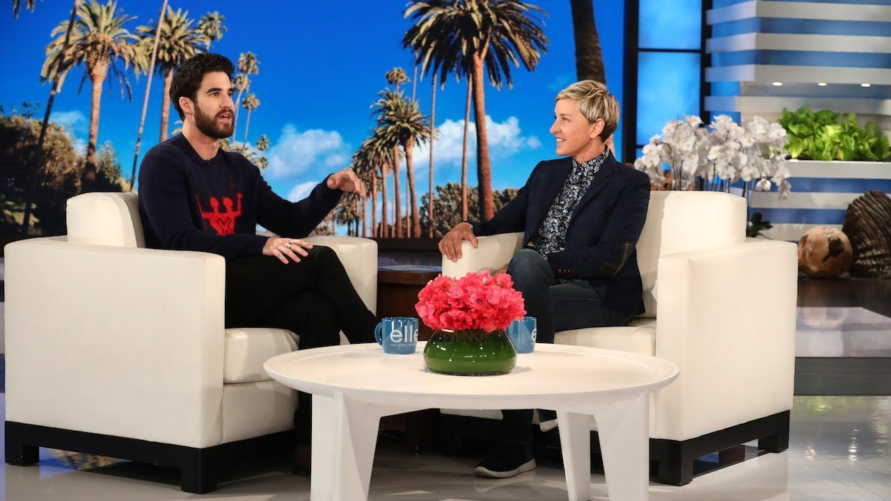 Darren Criss No Longer Has a Problem Being Naked On-Screen