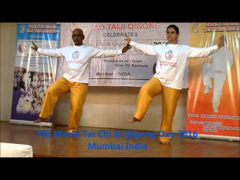 8 FORM -WORLD TAI CHI & QIGONG DAY 2016, MUMBAI, INDIA