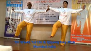 8 form world tai chi qigong day 2016 mumbai india