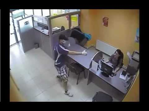 Bank Robbery in 85 seconds