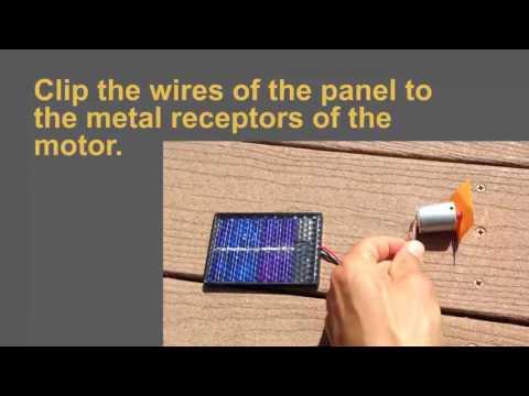 Small Solar Motors