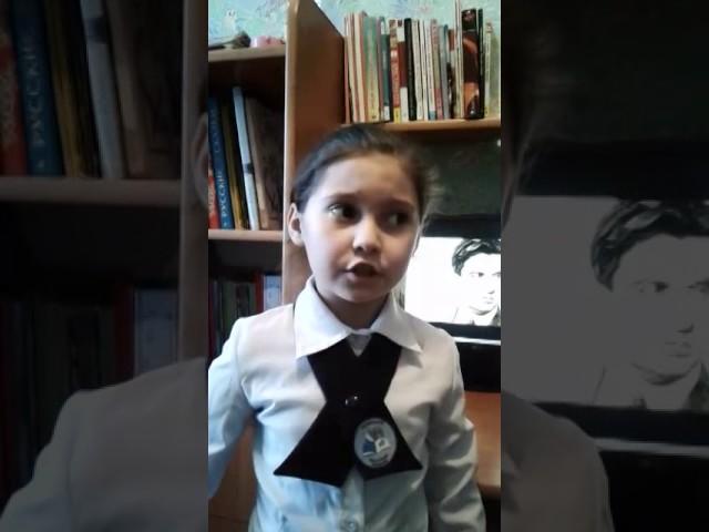 Изображение предпросмотра прочтения – ДаринаБегайдарова читает произведение «Что такое хорошо и что такое плохо» В.В.Маяковского