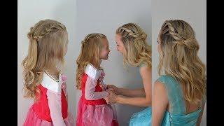 Quick Princess or Fairy Hair | Twist Crown Braid | Q's Hairdos