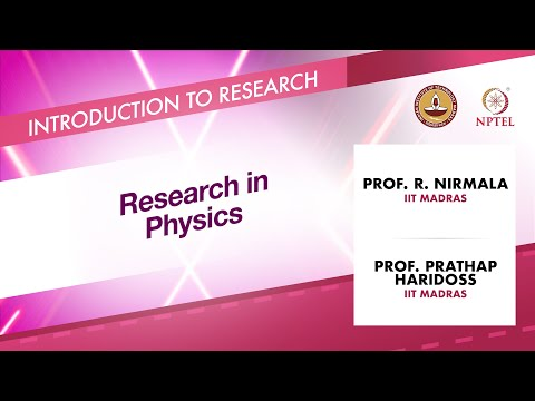 Research in Physics