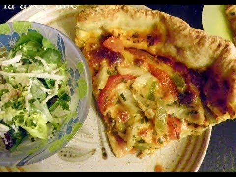 pizza-4-saisons-recette-maison-de-la-pâte-facile-à-la-portée-de-tous