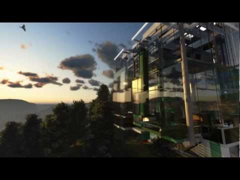 The Hanging Glass House Engineering HD