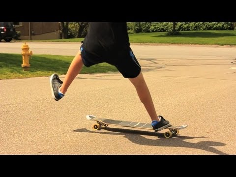 Longboarding Like Mike Virgin on the Apex 40 DiamondDrop