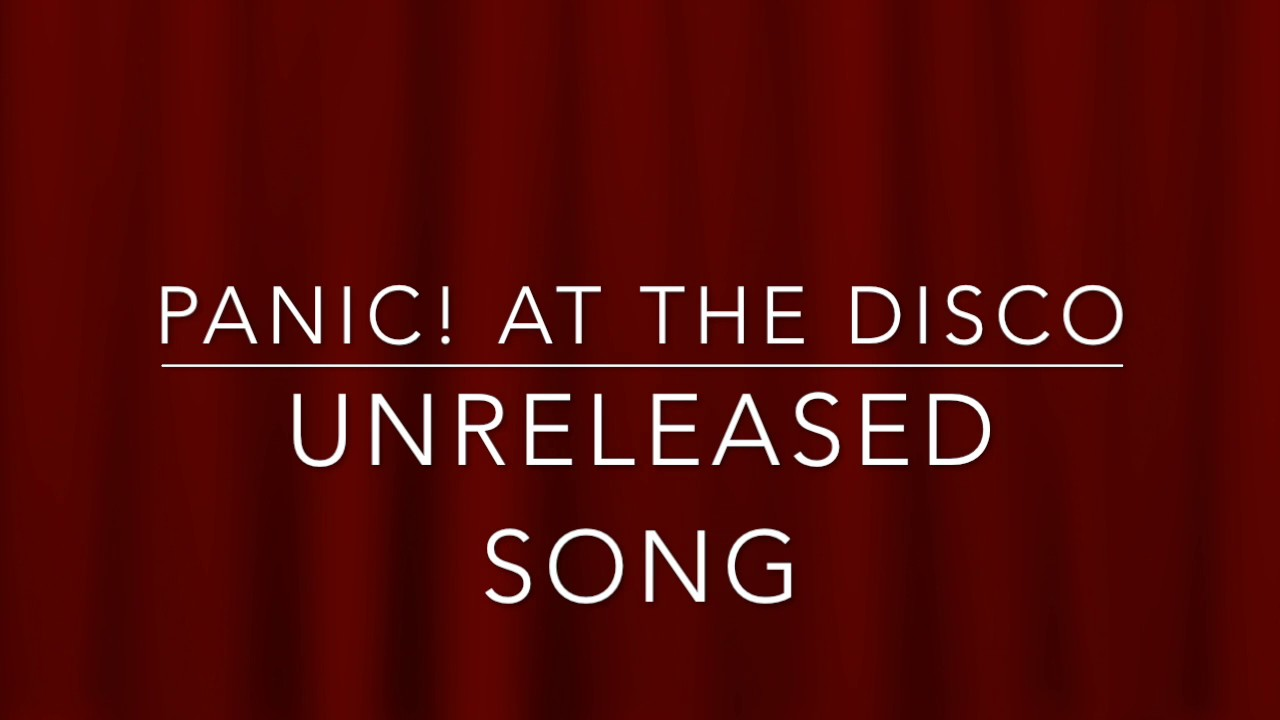 Panic! At The Disco - Stuck In The Middle (Unreleased Song)