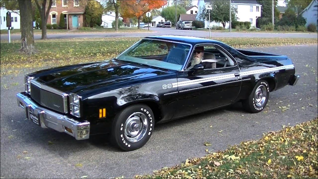 1977 el camino ss for sale on facebook resto mod muscle car youtube. Black Bedroom Furniture Sets. Home Design Ideas