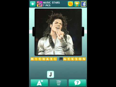 100 Pics Music Stars Level 1-10 Answers