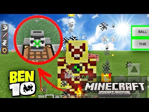 Ben 10 Mod Exclusive (Minecraft PE 1 12+)
