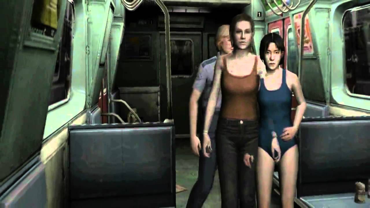 Alyssa ashcroft from resident evil doing a 10