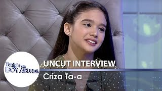 TWBA Uncut Interview: Criza Ta-a