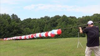 Will a 22lr go through 100 balloons?