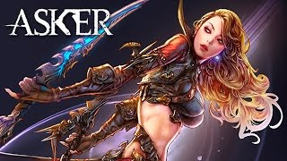 Asker: The Light Swallowers (애스커): Assassin Prologue, Tutorial & Creation (F2P CBT1 KR)