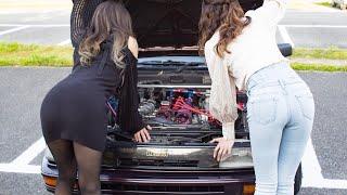 激シブ!AE86乗りの女の子とお尻。