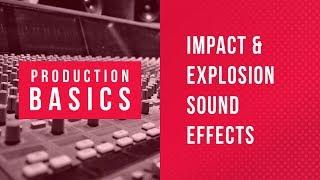 Ableton Live Production Basics 09 | Explosion Impact SFX Sound Design Tutorial