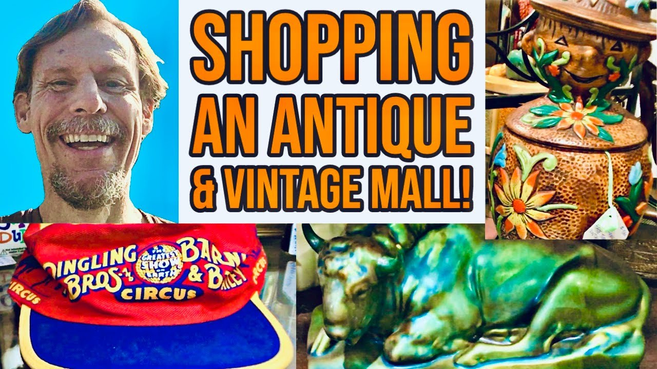SHOP WITH ME! | ANTIQUE MALL & FLEA MARKET FINDS | VINTAGE RESELLING