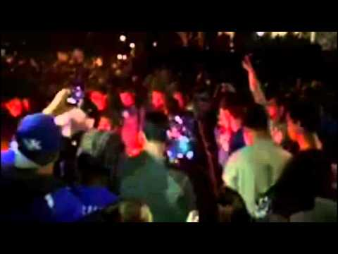 Kentucky fans riot, Wisconsin fans celebrate after Badgers pull upset