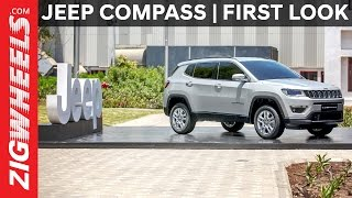 Jeep Compass | First Look | ZigWheels.com