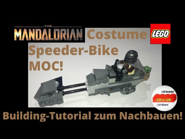 Costume Speeder-Bike des Mandalorianers MOC!/LEGO Building-Tutorial zum nachbauen :-)!