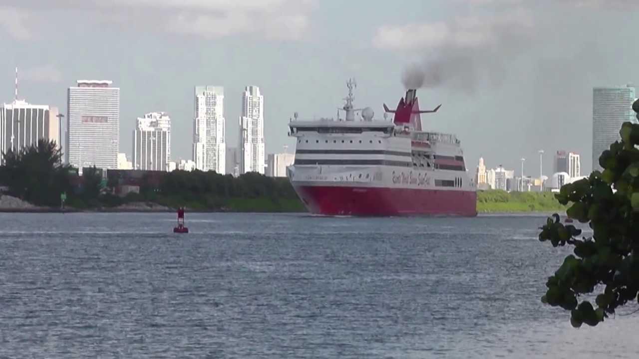 Miami To Bimini Day Cruise Bahamas YouTube - Bimini superfast cruise ship