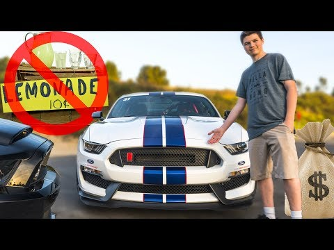 How I Afford My DREAM CAR At Age 18!! (Shelby GT350R)