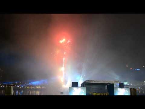Australia Day 2015 - Darling Harbour Fireworks