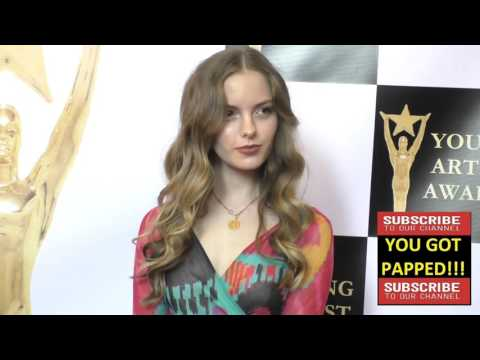 Jolie Vanier at the 37th Annual Young Artist Awards Sportsman Lodge in Studio City