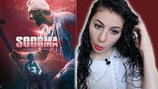 SOORMA   DILJIT DOSANJH   TAAPSEE PANNU   TRAILER REACTION BOLLYWOOD REACTION IV