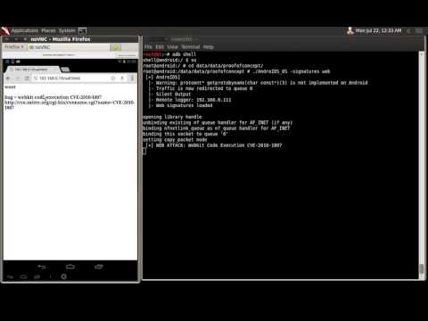 """Web signatures of """"Building the first Android IDS on Network Level"""" at Defcon 21 by @segofensiva"""