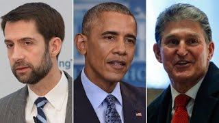Senators compliment Obama's dignity